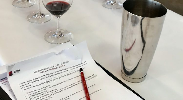 Wine Show Judging