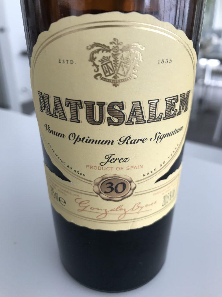 Matusalem Sherry